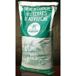 Rye flour from Auvergne (France) T 170 .1kg